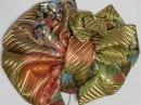 振袖用作り帯 袋帯使用 金小花